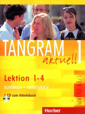 Tangram aktuell 1 Lektion 1-4 KB+AB mit Audio CD