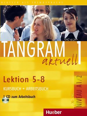 Tangram aktuell 1 Lektion 5-8 KB+AB mit Audio CD