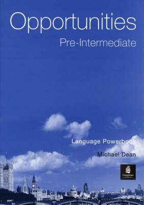 Opportunities Pre-Intermediate Language Powerbook