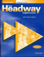 New Headway pre-inter. WB+key